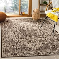 Safavieh Linden Natural/ Brown Rug (8' x 10')