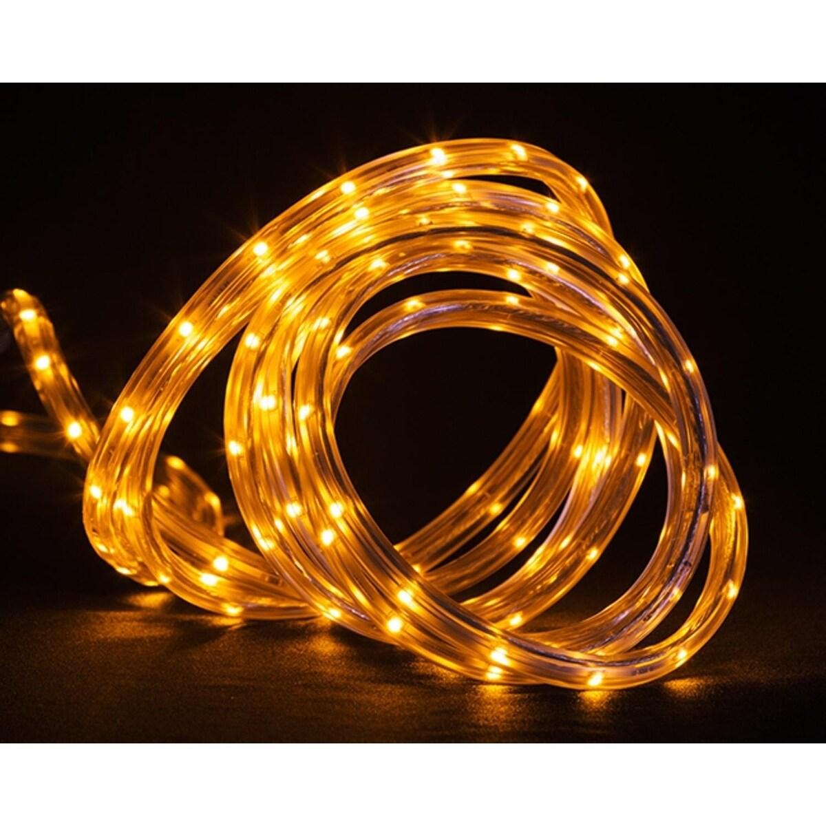 CC Christmas 30' Amber LED Indoor/Outdoor Christmas Linea...