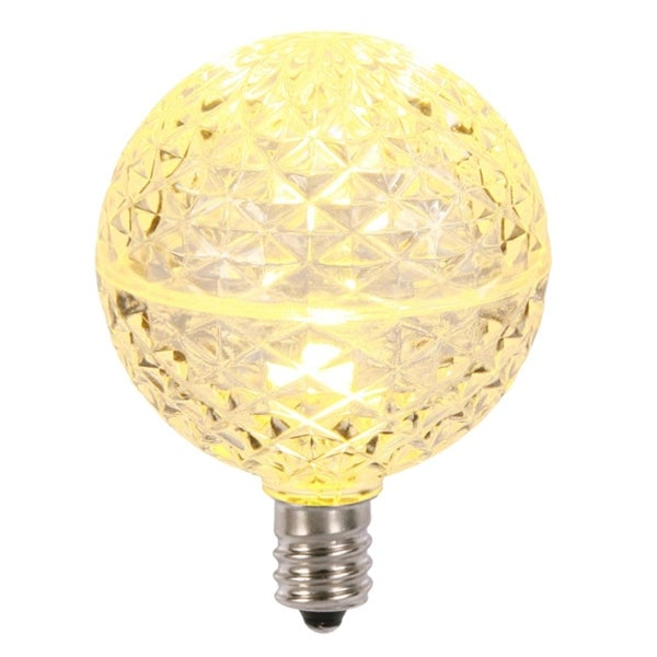 How To Replace Christmas Light Bulb.Club Pack Of 25 Led G50 Warm Clear Replacement Christmas Light Bulbs E12 Base