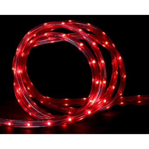 30' Red LED Indoor/Outdoor Christmas Linear Tape Lighting