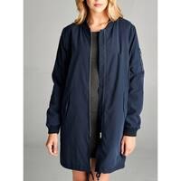 JED Women's Longline Padded Bomber Jacket