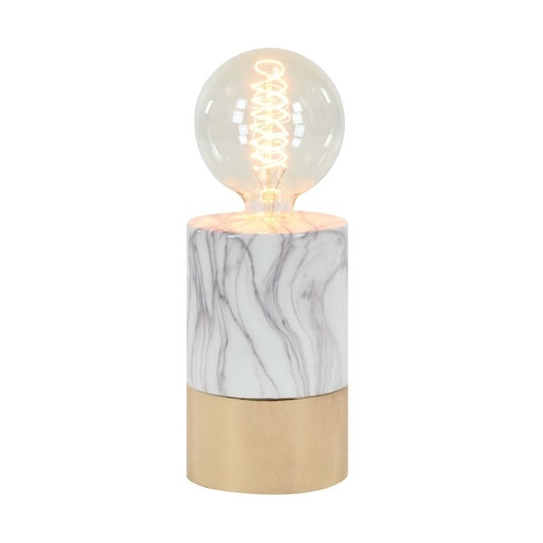 Studio 350 Ceramic Lamp W Bulb 5 inches wide, 14 inches high