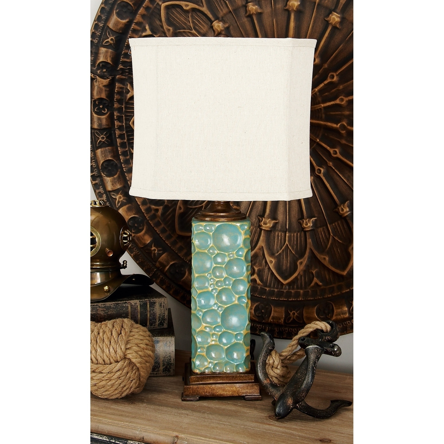 Studio 350 Set of 2, Polystone Table Lamp 30 inches high,...