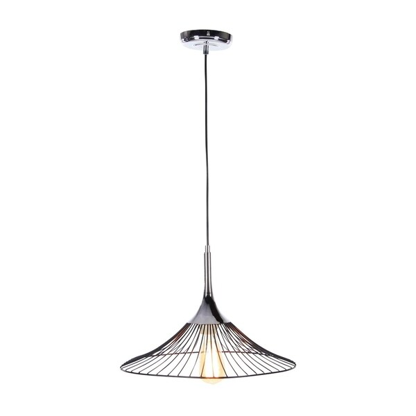 Studio 350 Metal Pendant W Bulb 17 inches wide, 11 inches high