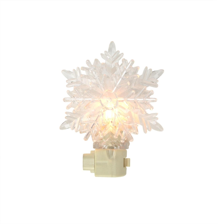 "Sienna 5.75"" Snowy Winter Decorative Clear Snowflake Chri..."