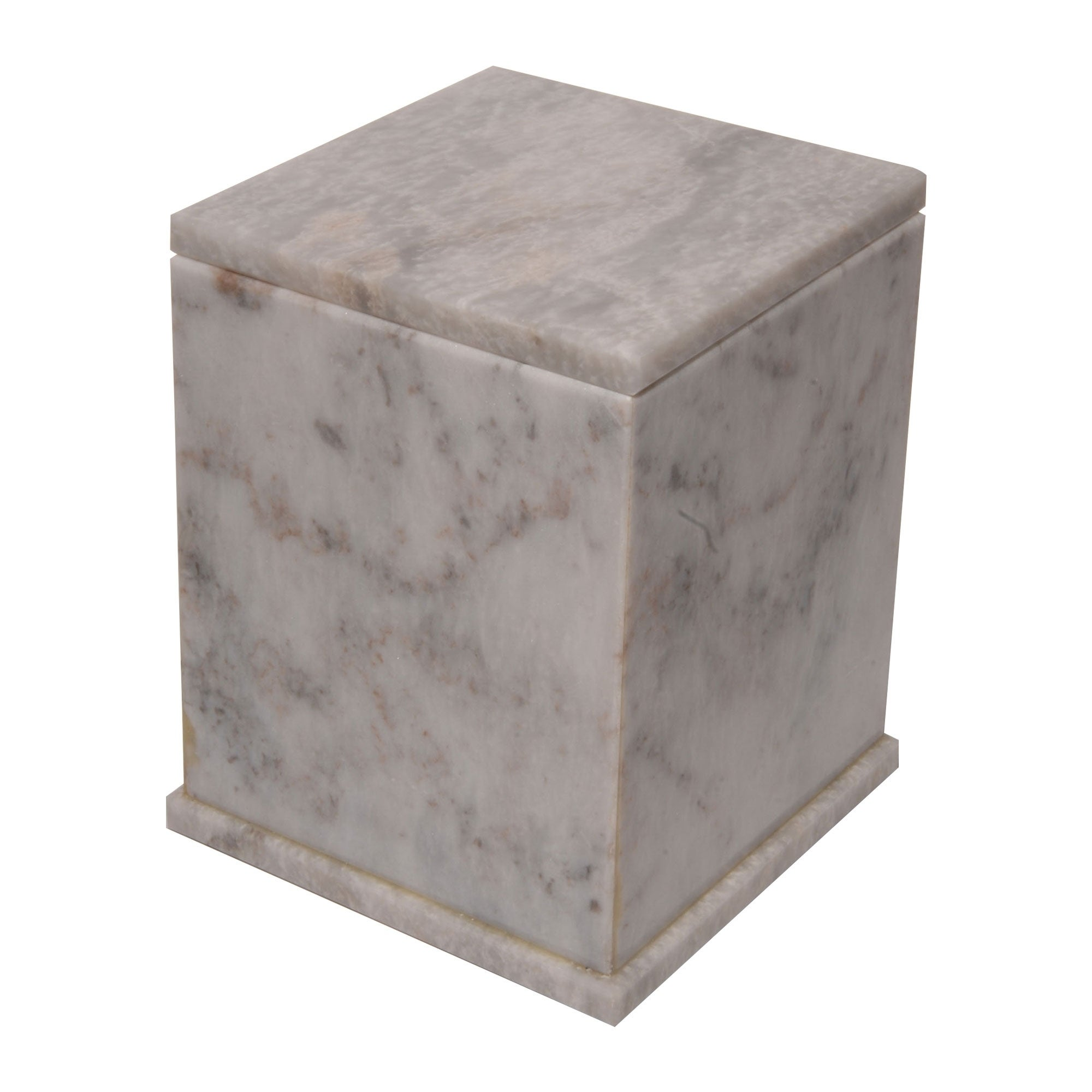 Rembrandt Home Polished Marble Decorative Cremation Urn w...