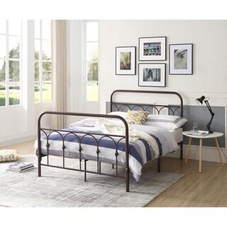Hodedah Queen Metal Bed