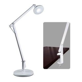 OttLite LED Crane Desk Lamp with Clamp