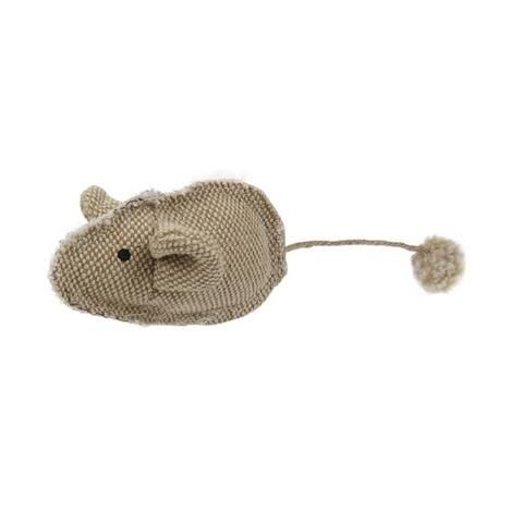 Pet Life Pompom Kitty Mouse Plush Catnip Cat Toy