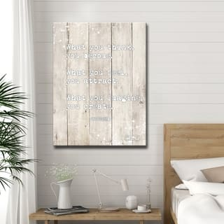 Olivia Rose 'Buddha Quote' Inspirational Canvas Art