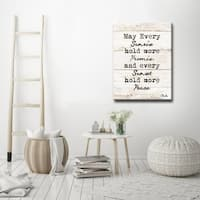 Every Sunrise & Sunset' Inspirational Canvas Wall Art