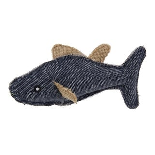 Pet Life Durable Fish Plush Kitty Catnip Cat Toy (2 options available)