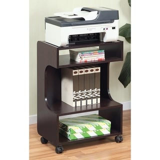 SINTECHNO S-ID10364 Mobile Printer Stand with Storage