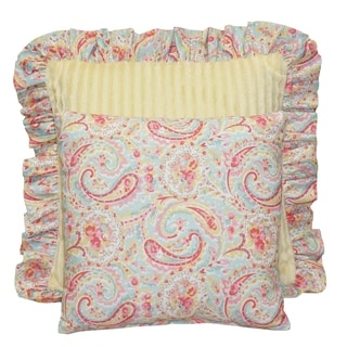 Cotton Tale Designs Marie Yellow and Paisley 2 Piece Pillow Pack