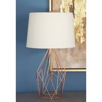 Studio 350 Metal Copper Wire Table Lamp 23 inches high
