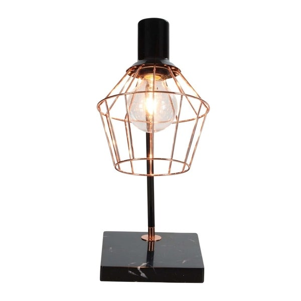Studio 350 Metal Accent Lamp W Bulb 13 inches wide, 17 inches high