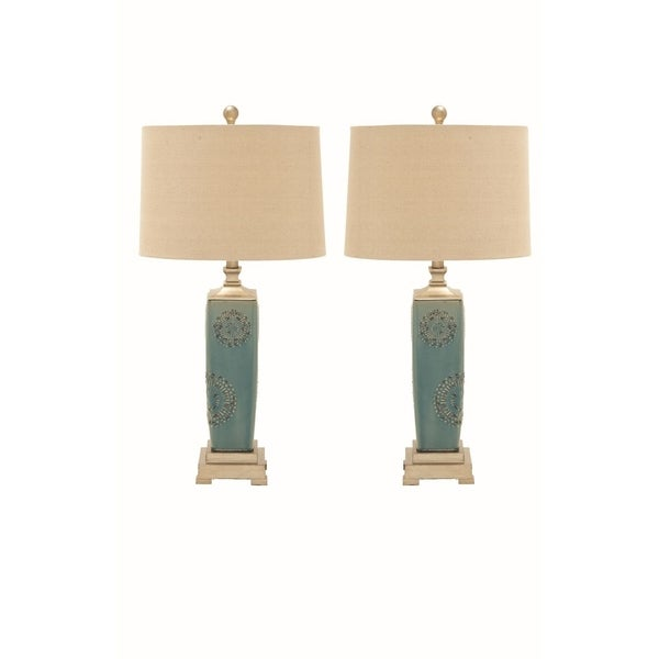 Studio 350 Set of 2, Ceramic PS Table Lamp 30 inches high