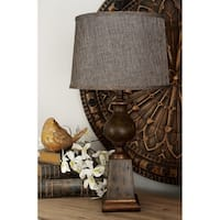 Studio 350 Set of 2, Polystone Table Lamp 34 inches high