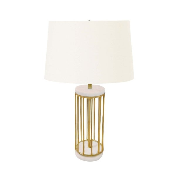 Studio 350 Metal Marble Table Lamp 24 inches high