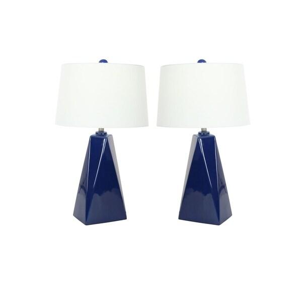 Studio 350 Set of 2, Ceramic Table Lamp 29 inches high