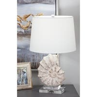 Studio 350 Glass Sea Snail Table Lamp