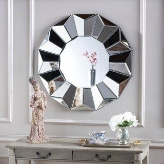 Yseult Geometric Wall Mirror by Christopher Knight Home