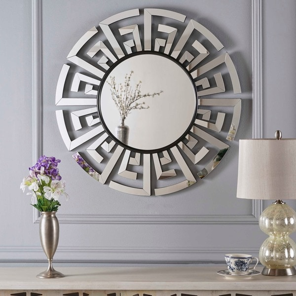 Keung chinese wall mirror by christopher knight home clear