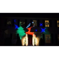 outdoor led christmas light projector with remote control