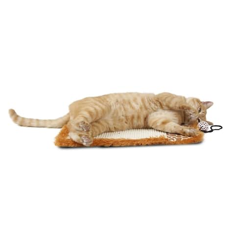 Pet Life 'Scrape-Away' Sisal and Jute Hanging Cat Scratcher with Toy