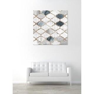 Oliver Gal 'Modern Scandinavian' Abstract Wall Art Canvas Print - White, Green