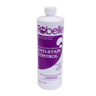 Robelle Winter Pool Closing Anti-Stain Control for Swimming Pools 1-Quart