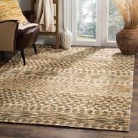 Safavieh Hand-Woven Organic Bohemian Slate/ Natural Jute Rug - 8' x 10'