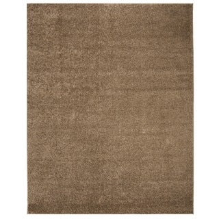 Safavieh New York Shag Dark Beige Rug (8' x 10')