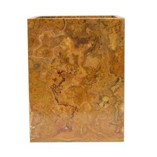 Rembrandt Home Amber Wastebasket