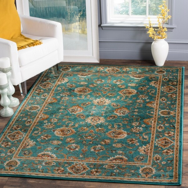 Shop Safavieh Summit Teal Teal Rug 8 X 10 On Sale