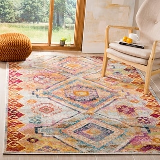 Safavieh Savannah Vintage Bohemian Yellow/ Cream Rug (8' x 10')