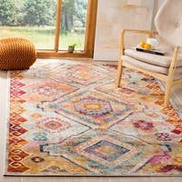 Safavieh Savannah Vintage Bohemian Yellow/ Cream Rug - 8' x 10'