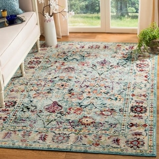 Safavieh Savannah Vintage Oriental Blue/ Multicolored Rug (8' x 10')