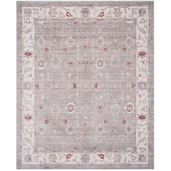 Shop Safavieh Windsor Vintage Light Grey/ Ivory Cotton Rug - 8' x 10 on product policy, information policy, work policy, payment policy, refund policy, supply policy, shipping policy, sample employee uniform policy, service policy, collection policy, cancel policy, exchange policy, follow policy, termination policy, check out policy, credit policy, request policy, call policy, use policy, rehire policy,