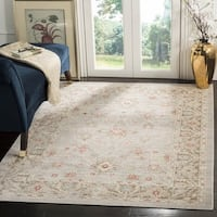 Safavieh Windsor Vintage Light Grey/ Brown Cotton Rug - 9' x 13'