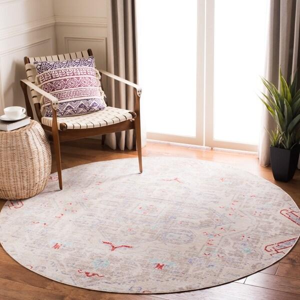 Safavieh Windsor Evangelia Shabby Chic Oriental Polyester Rug