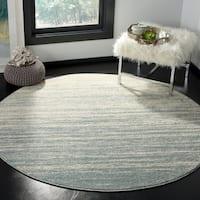 Safavieh Adirondack Slate/ Cream Rug - 6' x 6' Round
