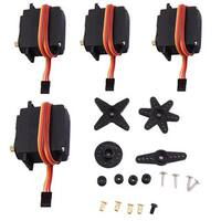 4  pieces MG996R Torque Digital All Metal Gear Servo for Helicopter Car Boat Model