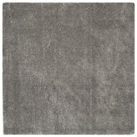 Safavieh Colorado Shag Light Grey Polyester Rug - 6'7 Square