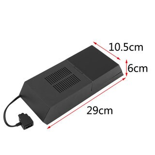 For PS4 HDD Extender Data Bank 3.5 inch HDD Extender Enclosure Upgrade Dock