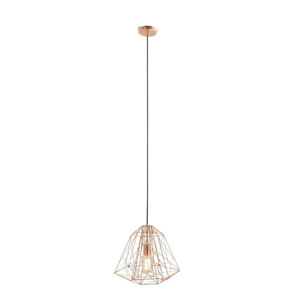 Contemporary 92 Inch Geometric Dome Iron Pendant Light by Studio 350