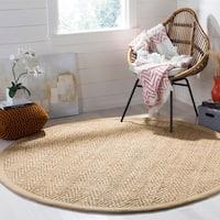 Safavieh Hand-Woven Natural Fiber Natural Jute Rug (6' Round)