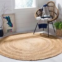 Safavieh Hand-Woven Natural Fiber Natural Jute Rug (4' Round)