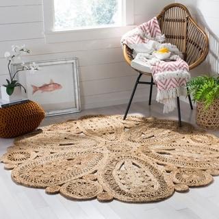 Safavieh Handmade Natural Fiber Ljiljanka Floral Jute Rug