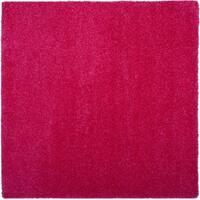 Safavieh Laguna Shag Fuchsia Pink Rug - 6'7 Square